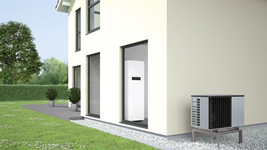 Pompa ciepła powietrze/woda typu Split Vitocal 222-S