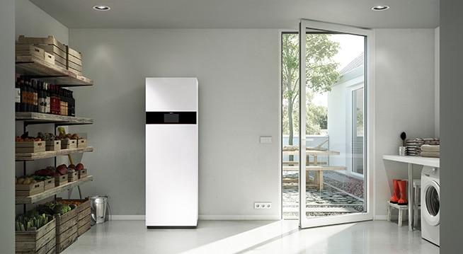 Vitodens 242-F - inteligentna centrala energetyczna, spełniającą najwyższe wymagania wobec efektywnego ogrzewania i komfortu ciepłej wody
